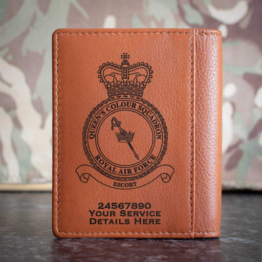 RAF Queen's Colour Squadron Credit Card Wallet
