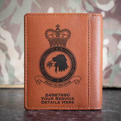 RAF Joint Aircraft Recovery and Transportation Squadron Credit Card Wallet