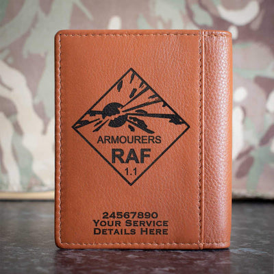 RAF Armourers Credit Card Wallet