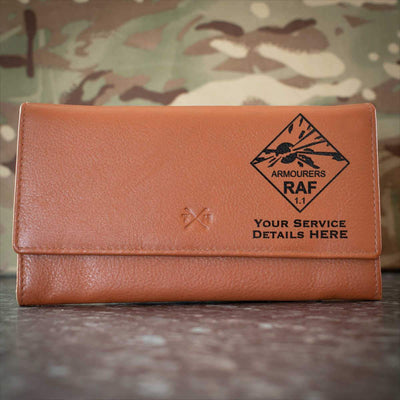 RAF Armourers Leather Purse