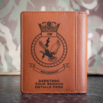 736 Naval Air Squadron Credit Card Wallet