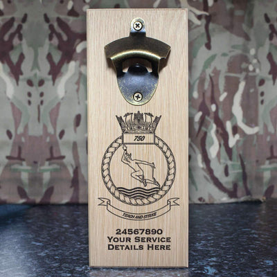750 Naval Air Squadron Wall-Mounted Bottle Opener
