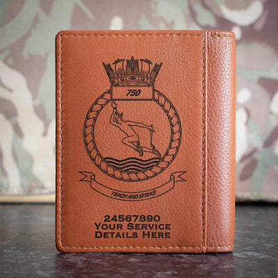 750 Naval Air Squadron Credit Card Wallet