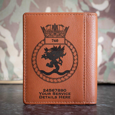 760 Naval Air Squadron Credit Card Wallet
