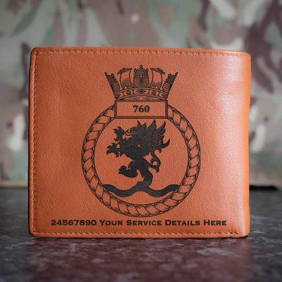 760 Naval Air Squadron Leather Wallet