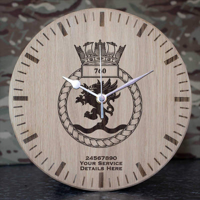 760 Naval Air Squadron Oak Clock