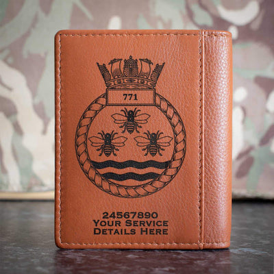 771 Naval Air Squadron Credit Card Wallet