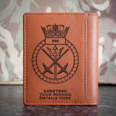 800 Naval Air Squadron Credit Card Wallet