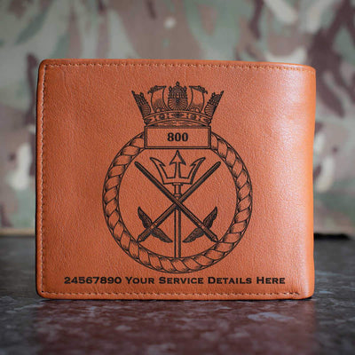 800 Naval Air Squadron Leather Wallet