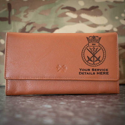 800 Naval Air Squadron Leather Purse
