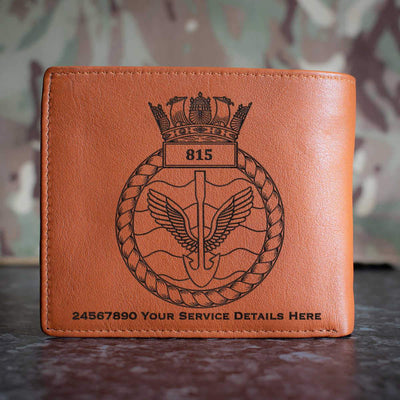 815 Naval Air Squadron Leather Wallet