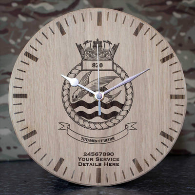 820 Naval Air Squadron Oak Clock