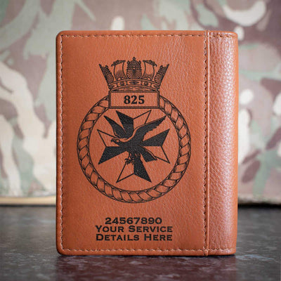 825 Naval Air Squadron Credit Card Wallet