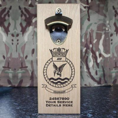 829 Naval Air Squadron Wall-Mounted Bottle Opener
