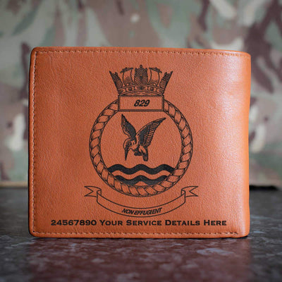 829 Naval Air Squadron Leather Wallet