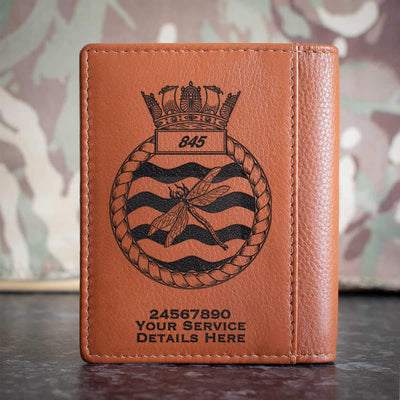 845 Naval Air Squadron Credit Card Wallet