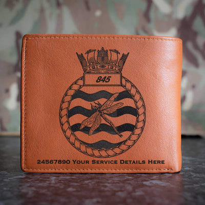 845 Naval Air Squadron Leather Wallet