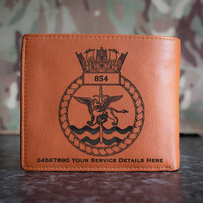 854 Naval Air Squadron Leather Wallet