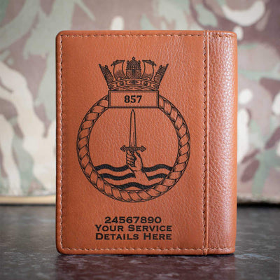 857 Naval Air Squadron Credit Card Wallet
