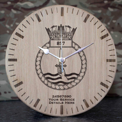 857 Naval Air Squadron Oak Clock