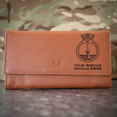857 Naval Air Squadron Leather Purse