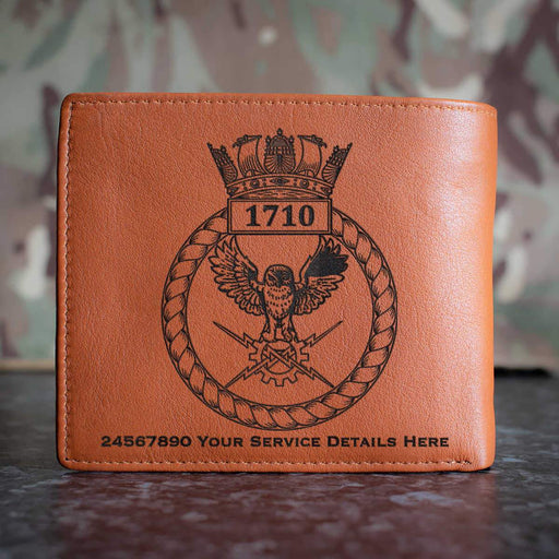 1710 Naval Air Squadron Leather Wallet