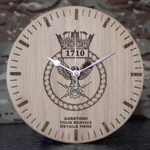 1710 Naval Air Squadron Oak Clock