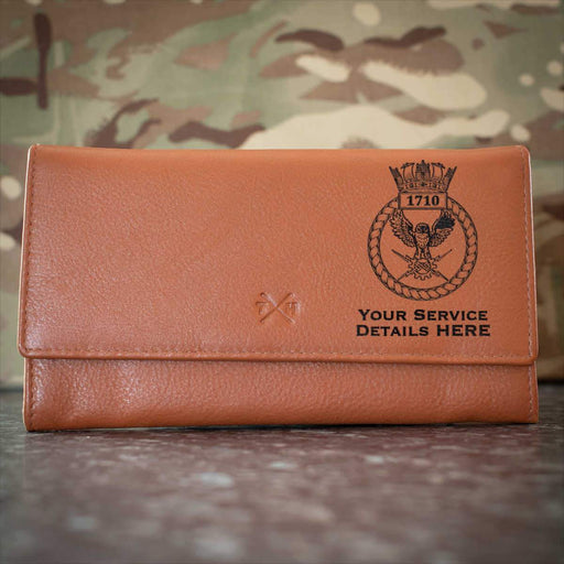 1710 Naval Air Squadron Leather Purse