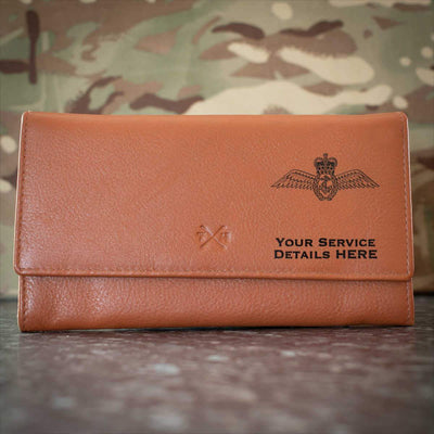 Fleet Air Arm Wings Leather Purse