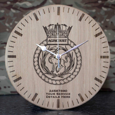 Agincourt Oak Clock