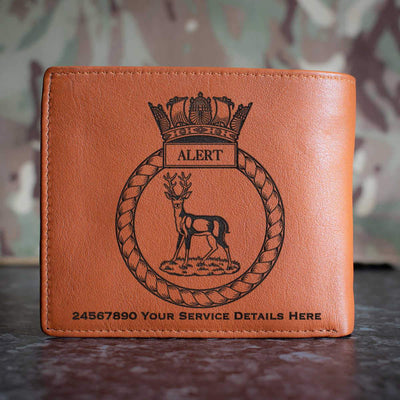 Alert Leather Wallet