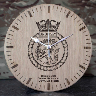 Anglesey Oak Clock
