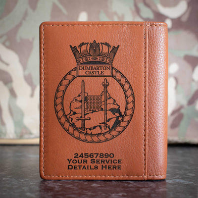 Dumbarton Castle Credit Card Wallet