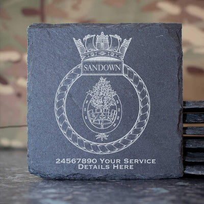 Sandown Slate Coaster