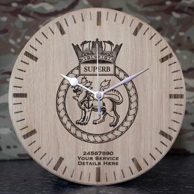 Superb Oak Clock