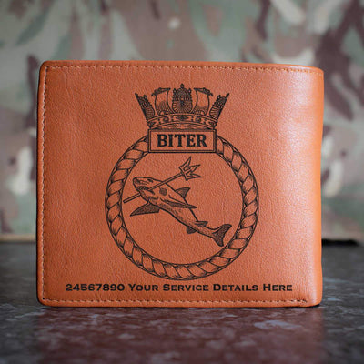 Biter Leather Wallet
