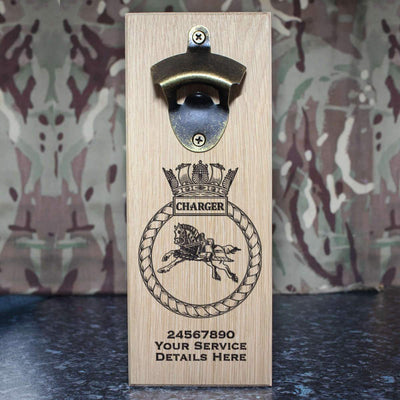 Charger Wall-Mounted Bottle Opener