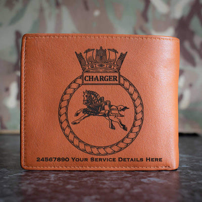Charger Leather Wallet