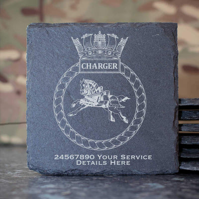 Charger Slate Coaster