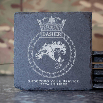 Dasher Slate Coaster