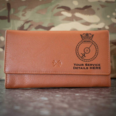 Defender Leather Purse