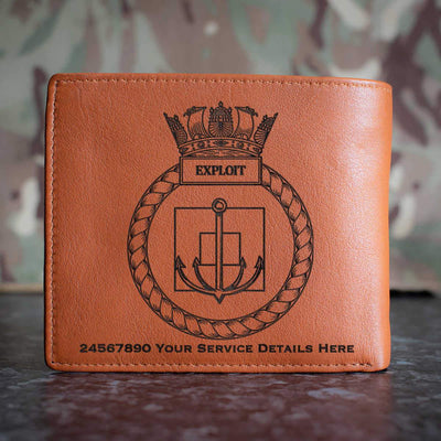 Exploit Leather Wallet