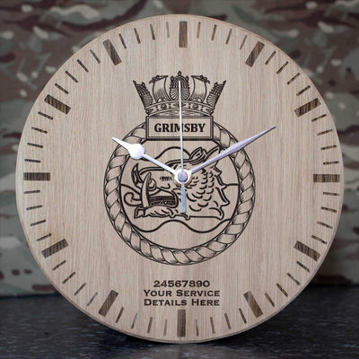 Grimsby Oak Clock