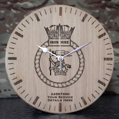 ironduke Oak Clock