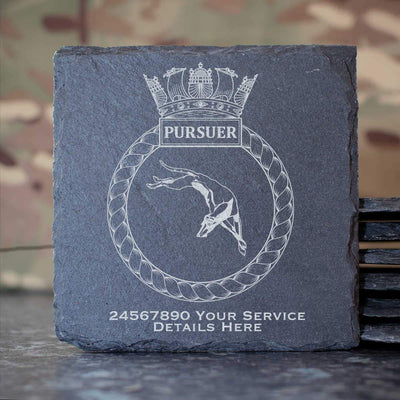 Pursuer Slate Coaster
