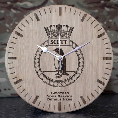 Scott Oak Clock
