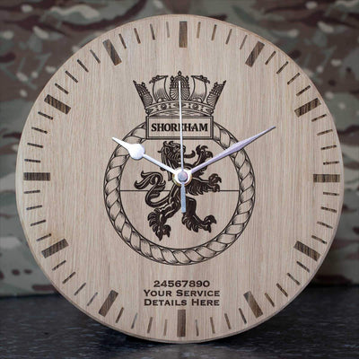 Shoreham Oak Clock