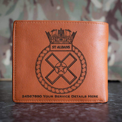 St Albans Leather Wallet