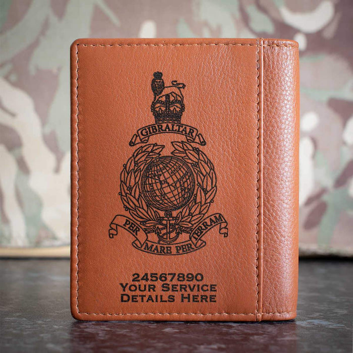 Royal Marines Globe and Laurel Credit Card Wallet
