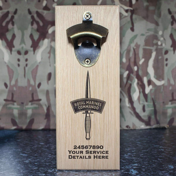 Royal Marines Dagger Wall-Mounted Bottle Opener